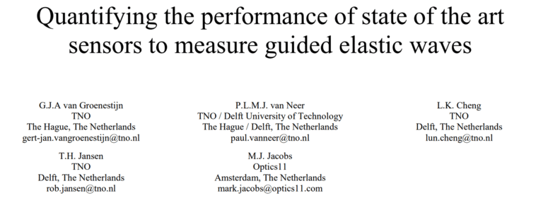 Experiment to quantitatively compare the performance of five state of the art sensors