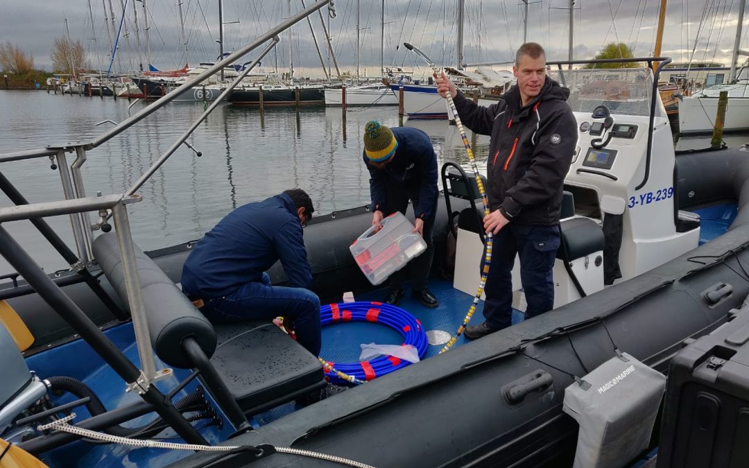 Successful sea trial of Optics11 fiber optic hydrophone array