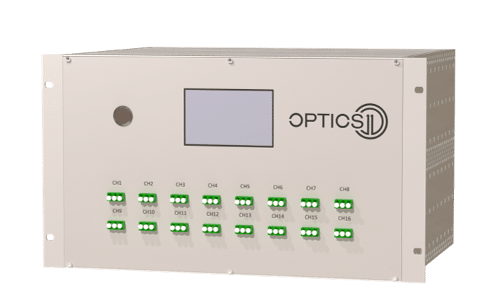 Optics11 releases new generation of OptimAE doubling its sensor capacity